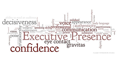 Image result for IMAGES OF EXECUTIVE PRESENCE