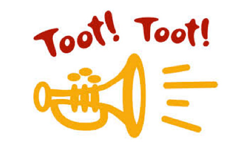 Image result for tooting horn
