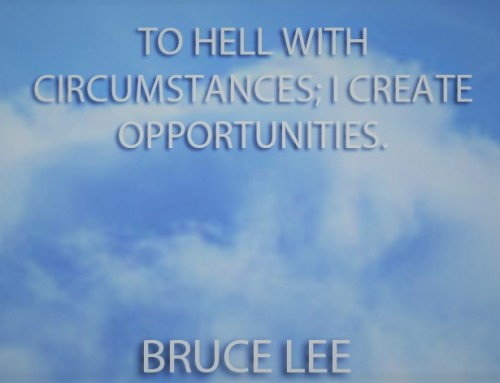 Don't Blame It On Lack Of Opportunities – Create Them