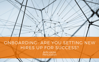 Onboarding- Are you setting new hires up for success?