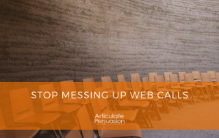 Stop messing up web calls