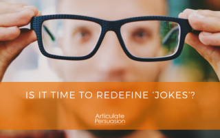 Is it time to redefine jokes?