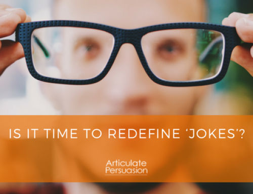 Is It Time To Redefine 'Jokes'?