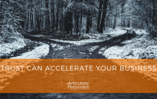 Trust Can Accelerate Your Business